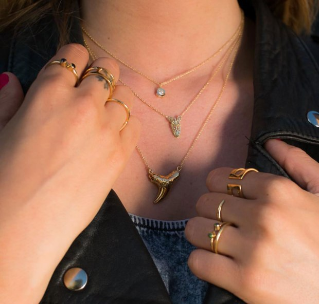 Lifestyle-shark-tooth-neclace