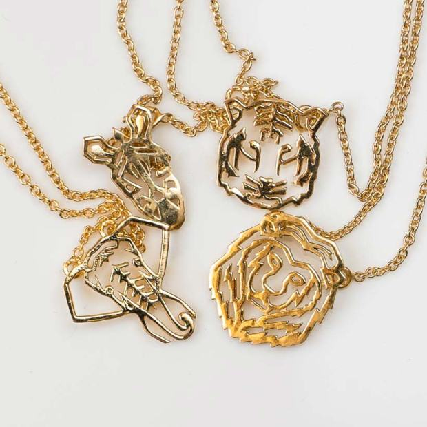 necklace-animals-jewelry-gold-plated-outfit-maria-pascual
