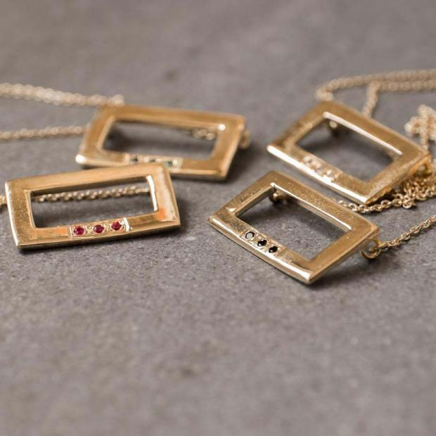necklace-rectangle-jewelry-gold-plated-trend-maria-pascual