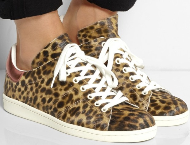 Isabel-Marant-Etoile-Bart-leopard-print-calf-hair-sneakers